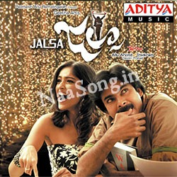 Jalsa (2008) Telugu Movie Audio CD Front Covers, Posters, Pictures, Pics, Images, Photos, Wallpapers