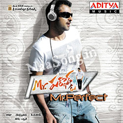 Mr. Perfect (2011) Telugu Movie Audio CD Front Covers, Posters, Pictures, Pics, Images, Photos, Wallpapers