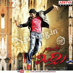 Mirchi (2013) Telugu Movie Audio CD Front Covers, Posters, Pictures, Pics, Images, Photos, Wallpapers