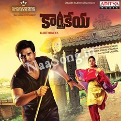 Karthikeya (2014) Telugu Movie Audio CD Front Covers, Posters, Pictures, Pics, Images, Photos, Wallpapers