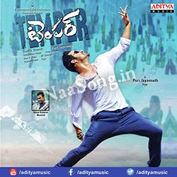 Temper (2015) Telugu Movie Audio CD Front Covers, Posters, Pictures, Pics, Images, Photos, Wallpapers