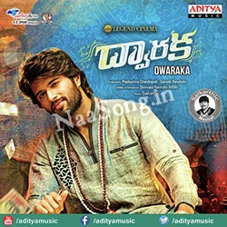 Dwaraka (2016) Telugu Movie Audio CD Front Covers, Posters, Pictures, Pics, Images, Photos, Wallpapers