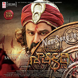 Gautamiputra Satakarni (2016) Telugu Movie Audio CD Front Covers, Posters, Pictures, Pics, Images, Photos, Wallpapers