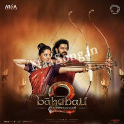 Bahubali 2 (2017) Telugu Movie Audio CD Front Covers, Posters, Pictures, Pics, Images, Photos, Wallpapers