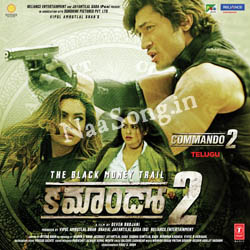 Commando 2 (2017) Telugu Movie Audio CD Front Covers, Posters, Pictures, Pics, Images, Photos, Wallpapers