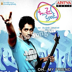 Oh My Friend (2011) Telugu Movie Audio CD Front Covers, Posters, Pictures, Pics, Images, Photos, Wallpapers
