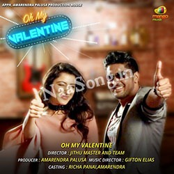 Oh My Valentine (2017) Telugu Movie Audio CD Front Covers, Posters, Pictures, Pics, Images, Photos, Wallpapers