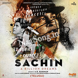 Sachin - A Billion Dreams (2017) Telugu Movie Audio CD Front Covers, Posters, Pictures, Pics, Images, Photos, Wallpapers